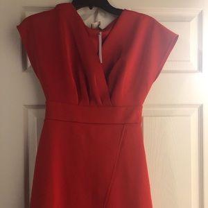NWT ASOS Red Evening Dress